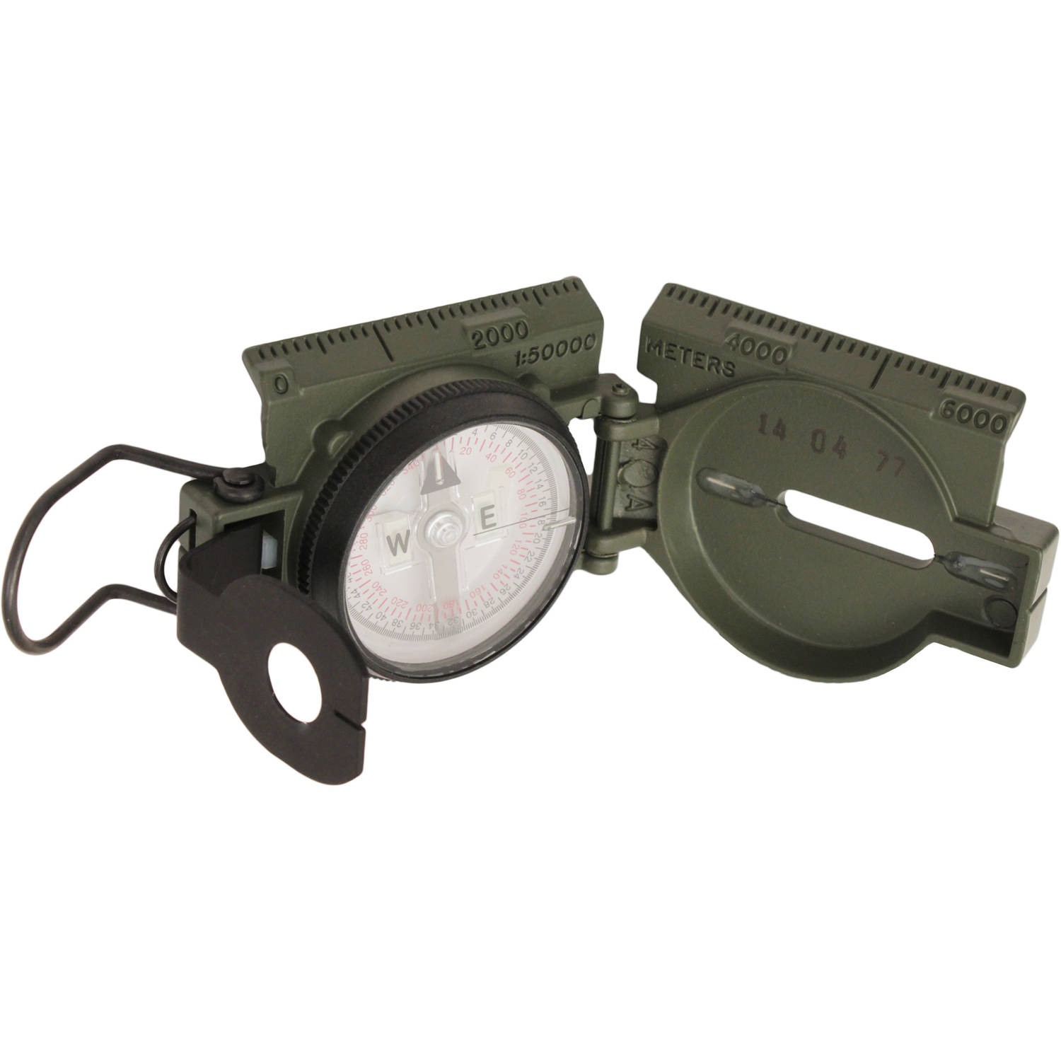 Click here to buy Cammenga Official U.S. Military Tritium Lensatic Compass Gift Box by Cammenga.