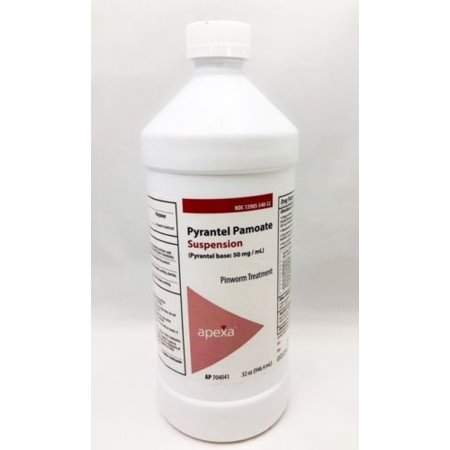 Pyrantel Pamoate hookworms round worms Dogs Cats suspension 32oz