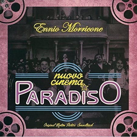 Nuovo Cinema Paradiso Soundtrack (Vinyl) (Love Theme Cinema Paradiso Sheet Music Violin)
