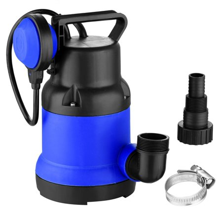 1 2 Hp Submersible Utility Pump With Float Switch Water Pipe Buckle For Swimming Pool Pond