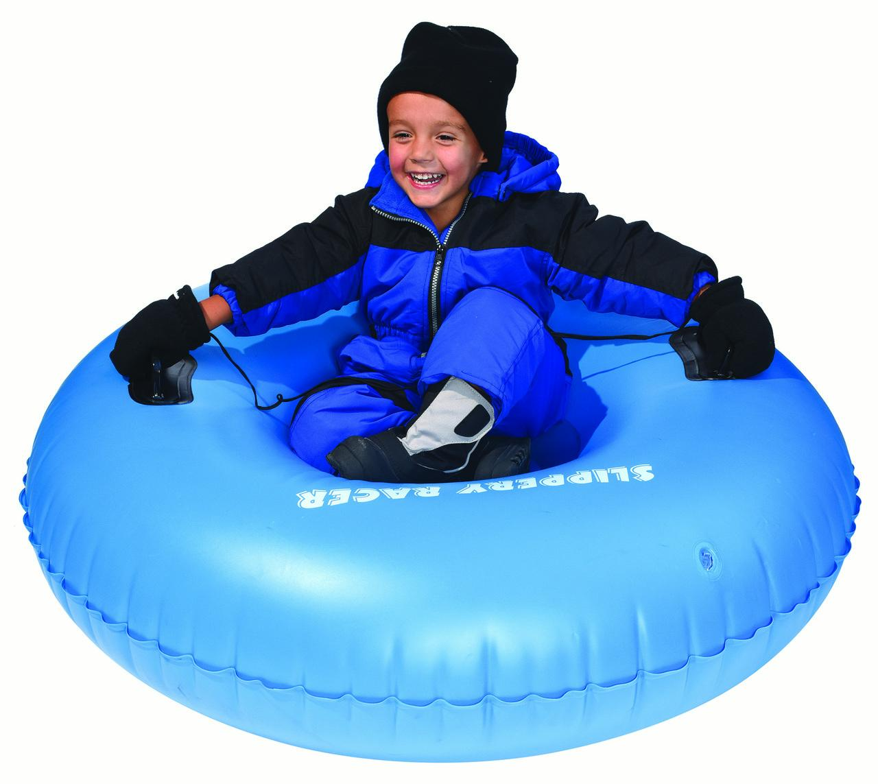 "Slippery Racer AirRaid 48"" Snow Tube Sled by Slippery Racer"