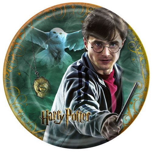 Harry Potter 'Deathly Hallows' Small Paper Plates (8ct)