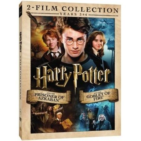 Harry Potter Double Feature: Years 3 & 4 - The Prisoner Of Azkaban / The Goblet Of Fire (DVD + Digital HD) (Walmart