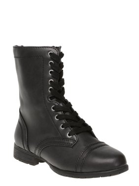 Women's Time and Tru Lace Up Boot (Wides Available)