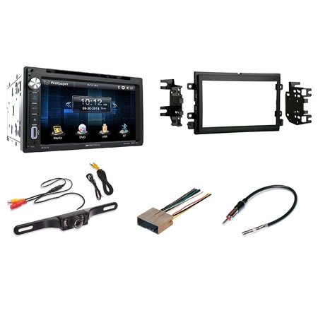 Ford Mercury Touchscreen Double Din Bluetooth CD/DVD/AUX/USB Car Radio Stereo With Free Backup - Ford Double Din
