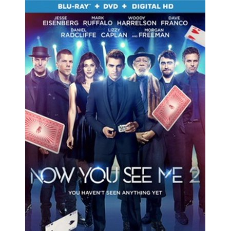 Now You See Me 2 (Blu-ray) (The Best Of Me Blu Ray Release)