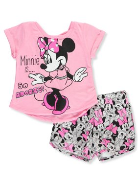 4103311fbc554 Product Image Disney Minnie Mouse Baby Girls' 2-Piece Shorts Set Outfit