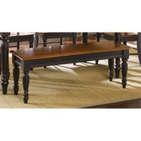 Bowery Hill Dining Bench in Anchor Black