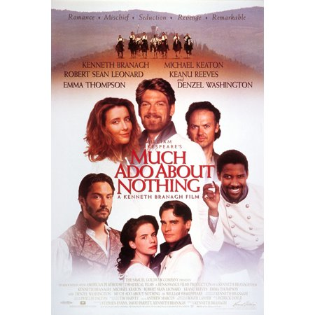 Ado About Nothing Poster (Much Ado About Nothing - Movie Poster / Print (Regular Style) (Size: 27