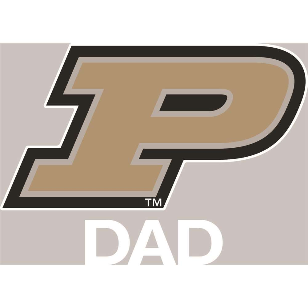 Purdue Boilermakers Transfer Decal - Dad