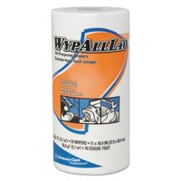 WypAll L40 Towels, Small Roll, 10 2/5 x 11, White, 70/Roll, 24 Rolls/Carton -KCC05027