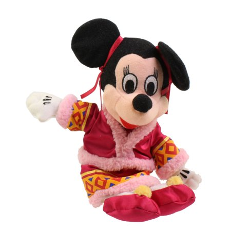 Bean Bag Costume (Disney Bean Bag Plush - CHINESE COSTUME MINNIE (Mickey Mouse) (10)
