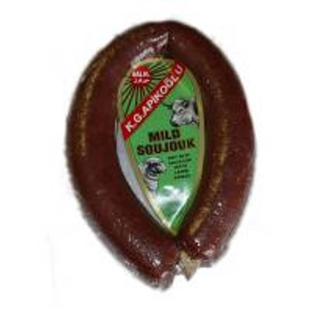 Halal Mild Soujouk   Dry Beef Sausage   Kga  Approx  1Lb