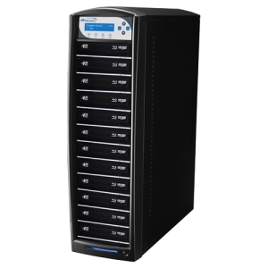 SHARKBLU BLU-RAY DVD CD USB 3.0 STAND-ALONE 1:12 DUPLICATOR HDD