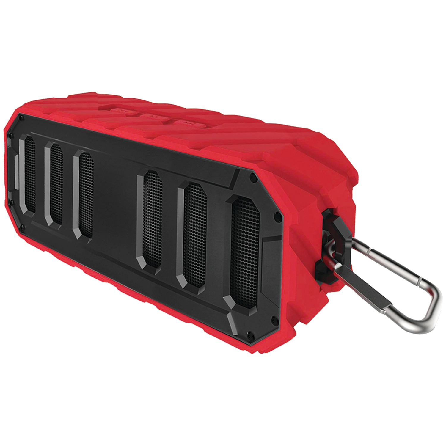 Supersonic SC-1455IPX-RD Waterproof Bluetooth Floating Portable Speaker (Red)