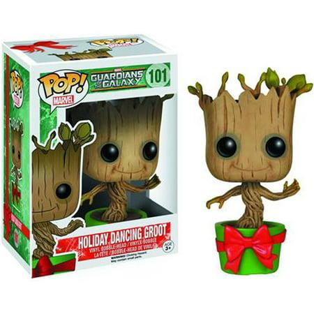 Funko POP! Marvel Holiday Dancing Groot Vinyl Bobble Head