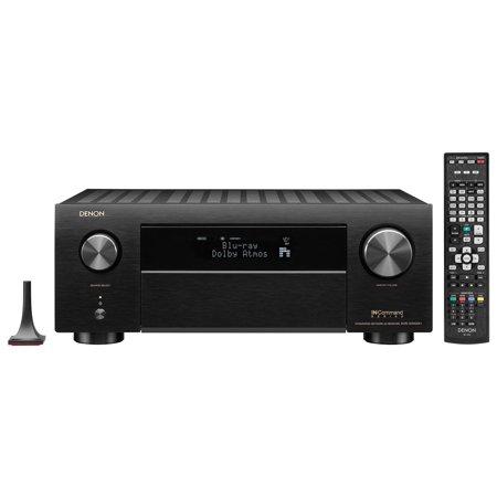Denon (AVRX4500HBKE3) AVRX4500H Denon (AVRX4500HBKE3) 9.2 Channel 4K AV Receiver 3D Audio Alexa Voice Control Black