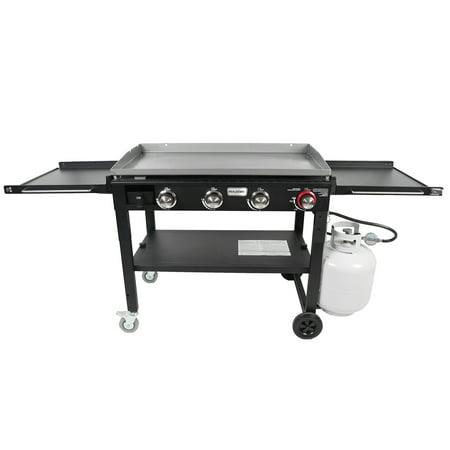 Razor Griddle GGC1643M 37 Inch Outdoor 4 Burner LP Propane Gas Griddle Grill