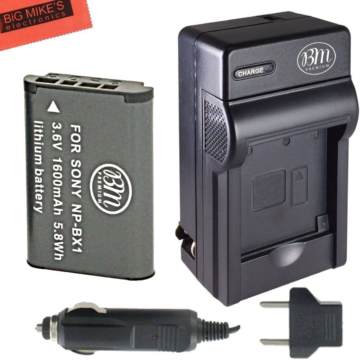 Bm Premium Np Bx1 Np Bx1 M8 Battery And Charger For Sony