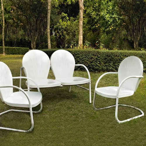 KO10002 Griffith 3-Piece Outdoor Conversation Seating Set