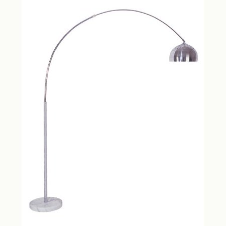 Chrome Glass Floor Lamp (ORE International 85