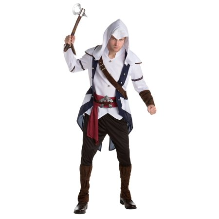 Assassins Creed Connor Men's Adult Halloween Costume (Assassini Halloween)