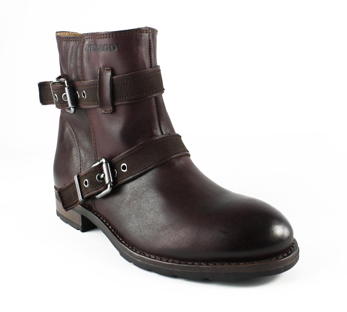 New Sebago Womens Laneymidboot BurgundyLeather Fashion Boots Size 5.5 by Sebago