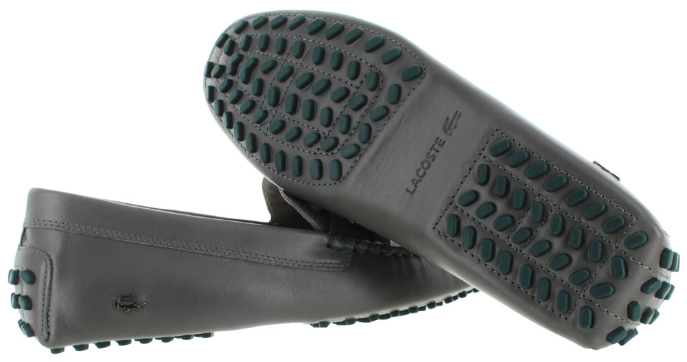 6a08a90d9b7e Lacoste Concours 19 Men s Penny Loafer Driving Moccasin Shoes Leather -  Walmart.com