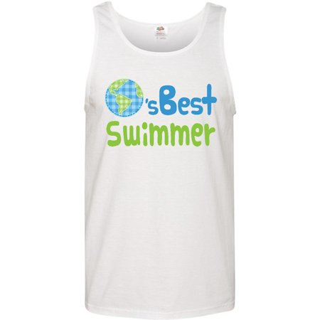 Worlds Best Swimmer Men's Tank Top