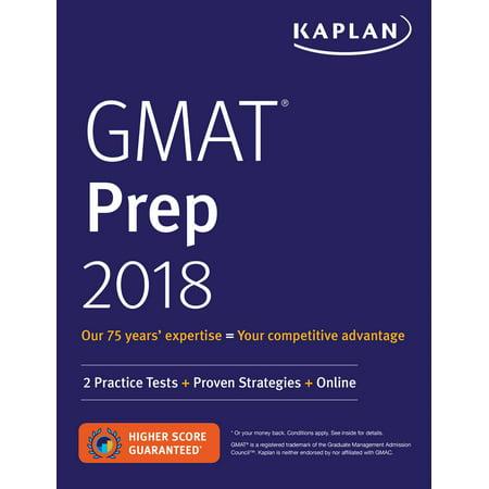Gmat Prep 2018   2 Practice Tests   Proven Strategies   Online