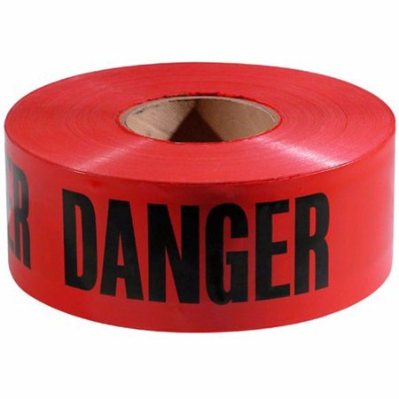 Hygrade/LDF 20402709 Red Danger Barricade Tape 3
