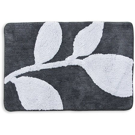 Better homes and gardens tranquil leaves decorative bath - Better homes and gardens bathroom rugs ...