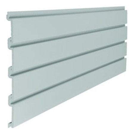 Suncast Corporation SW04G 4 ft. Resin Storage Trends Slat Wall - Pack of 6 ()
