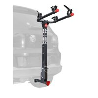 Deluxe Locking Quick Release 2-Bicycle Hitch Mounted Bike Rack Carrier, 522QR