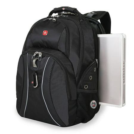 Swissgear Scansmart Laptop Backpack Black Walmart Com