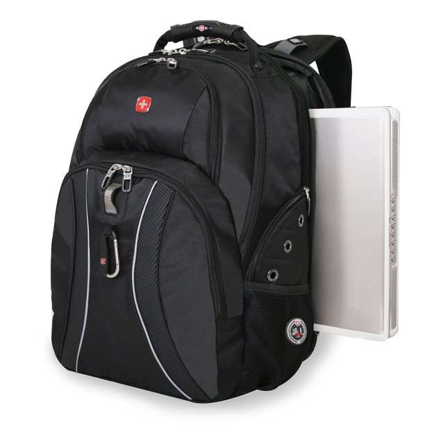 Swissgear Scansmart Laptop Backpack Black Walmart Com Walmart Com