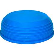 CanDo Wobble Ball, Blue, 18 Inch