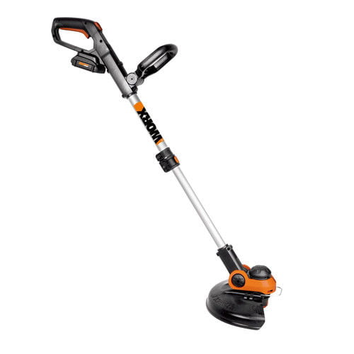Worx WG163 20V 3.0 Ah Cordless Lithium-Ion 12 in. Grass Trimmer Edger with Command Feed by Grass Trimmers