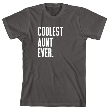 Coolest Aunt Ever Men's Shirt - ID: 968 (Coolest Onesies For Adults)