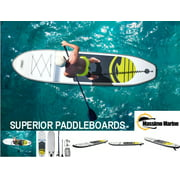 Massimo Stand Up Paddle Board SUP with Carrying Case & Pump | Inflatable | River Lake Paddle Board (3.3m/11ft)