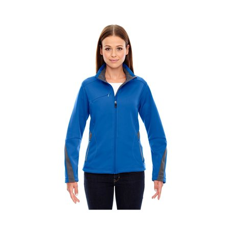 North End Sport Red Escape Ladies Bonded Fleece Jacket, Style 78649 Bonded Fleece Snowboard Jacket