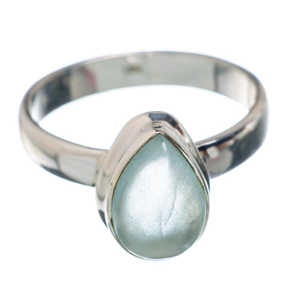 Ana Silver Co Aqua Chalcedony Ring Size 6.75 (925 Sterling Silver) Handmade Jewelry RING882339 by Ana Silver Co.