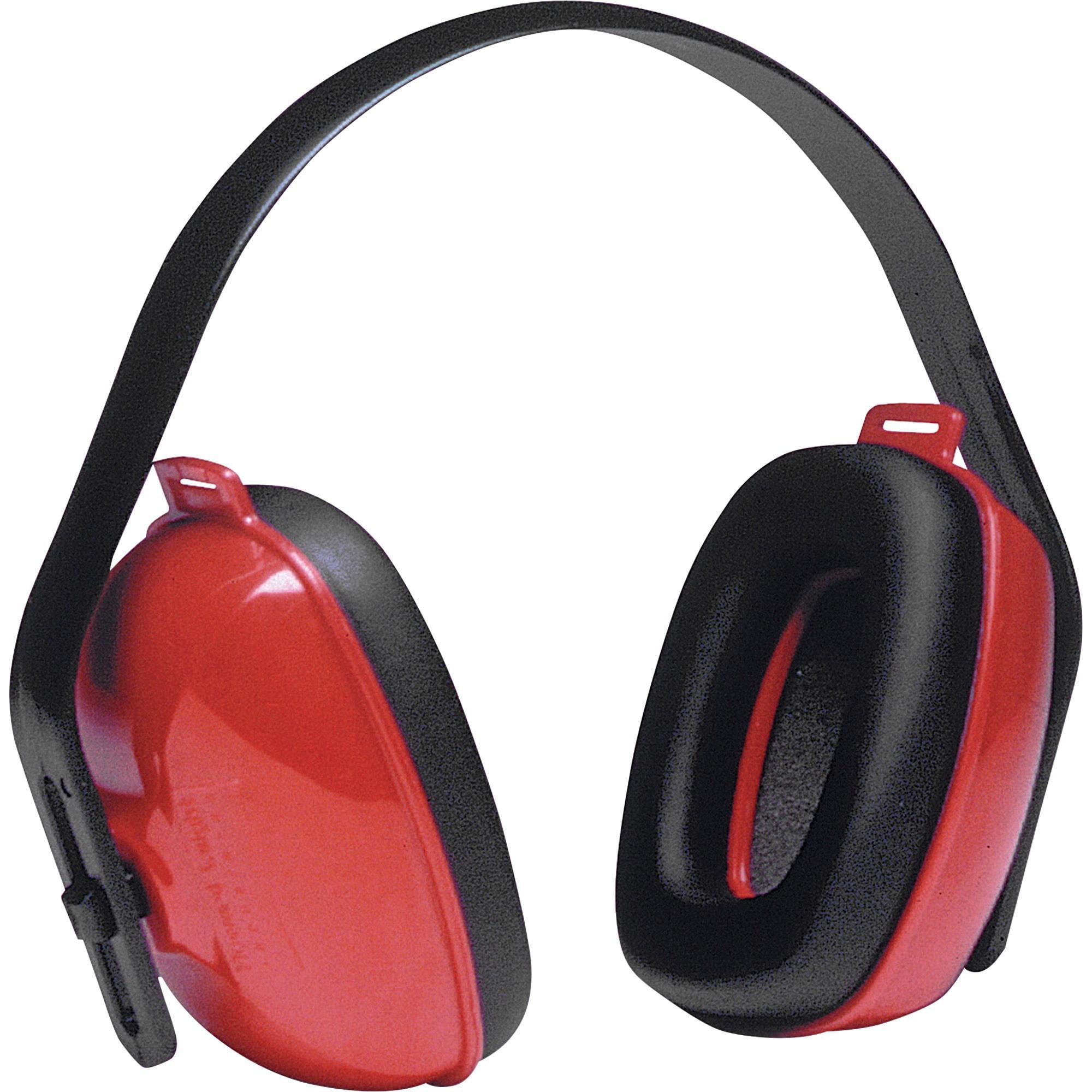 Howard Leight, HOWQM24, QM24 Plus Red Cup Ear Muffs, 1 Each, Red