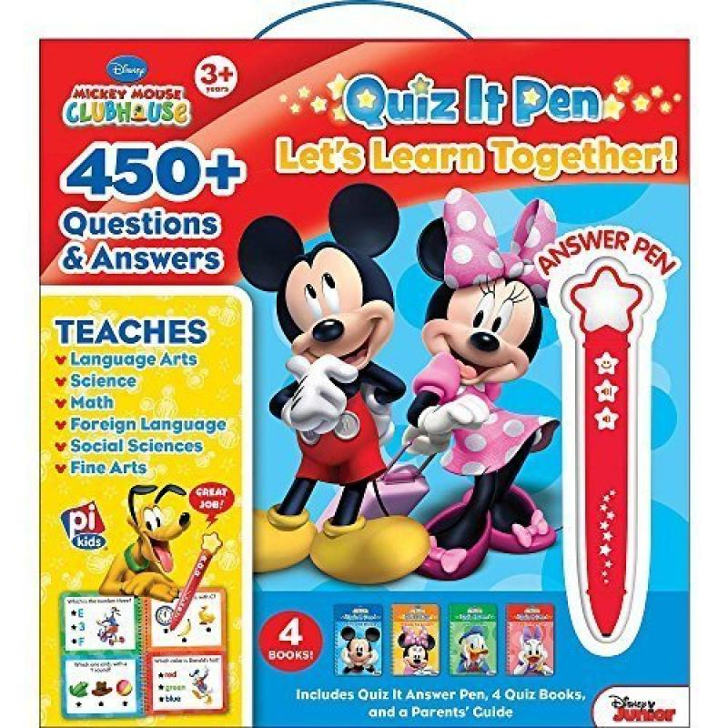 Disney Quiz It Pen Mickey Mouse Clubhouse