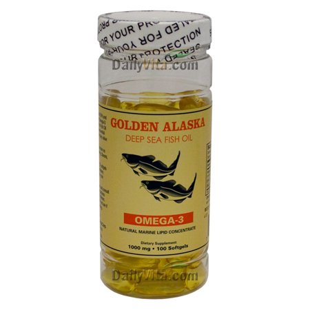 NCB Alaska Deep Sea Fish Oil, Omega 3 1000mg 100 - Kur Oil
