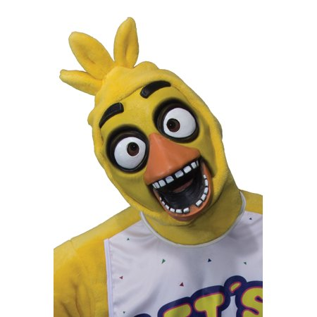 Five Nights at Freddy's Chica Adult 3/4 Mask (Five Nights At Freddy's Halloween Mask)