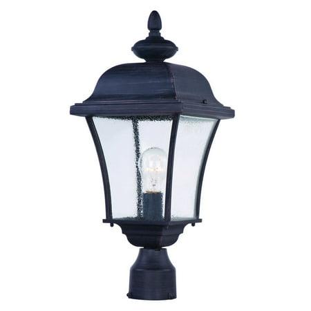 Maxim Lighting Brass Outdoor Lighting - Maxim 1065 Senator 1 Light Outdoor Post Light