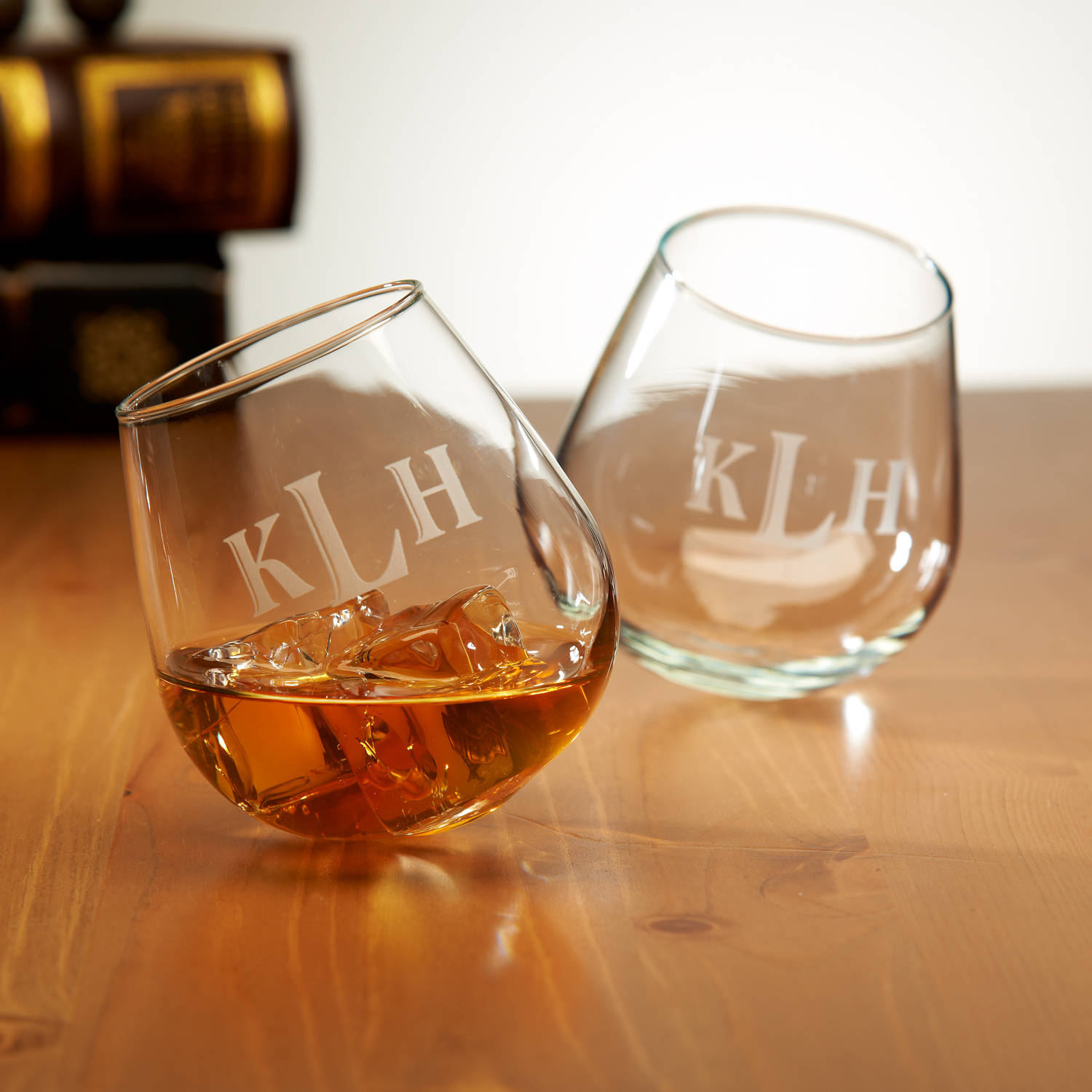 Personalized cocktail glasses Etched Walmart Personalized Rocking Cocktail Glasses Set Of Walmartcom