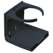 Sea-Dog 588220-1 Adjustable Folding Drink Holder - Black