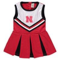 Nebraska Cornhuskers Girls Preschool & Toddler One-Piece Cheer Dress - Scarlet